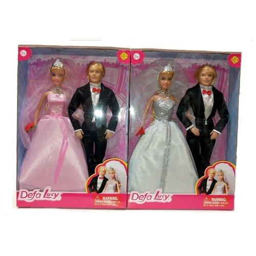 Купить Набор кукол Defa Lucy Жених и невеста 29 см 8305, Куклы и пупсы