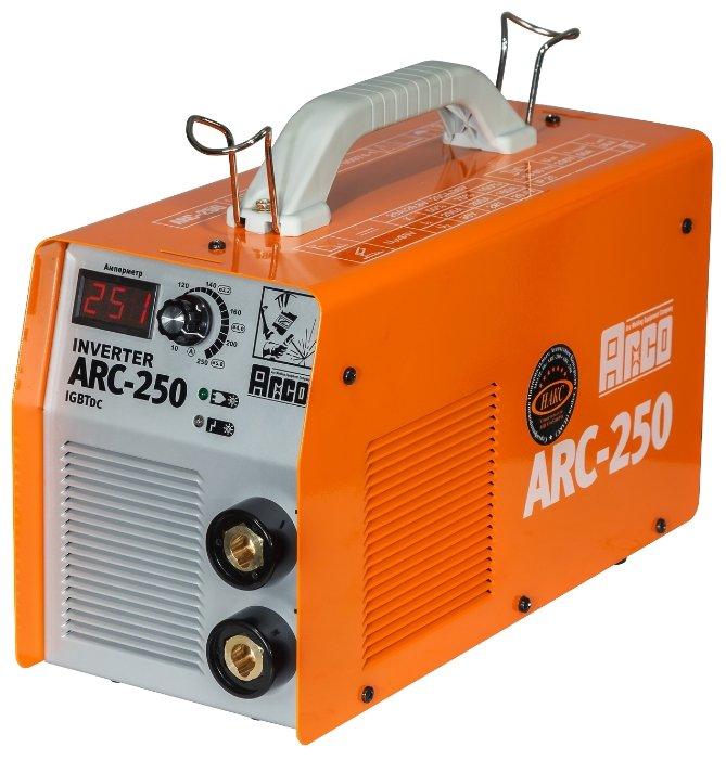 Сварочный аппарат ARCO ARC-250 (MMA)