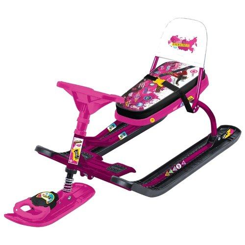 Снегокат Nika Тимка спорт 4-1 pink снегокат nika тимка спорт 5 kitty 1625808