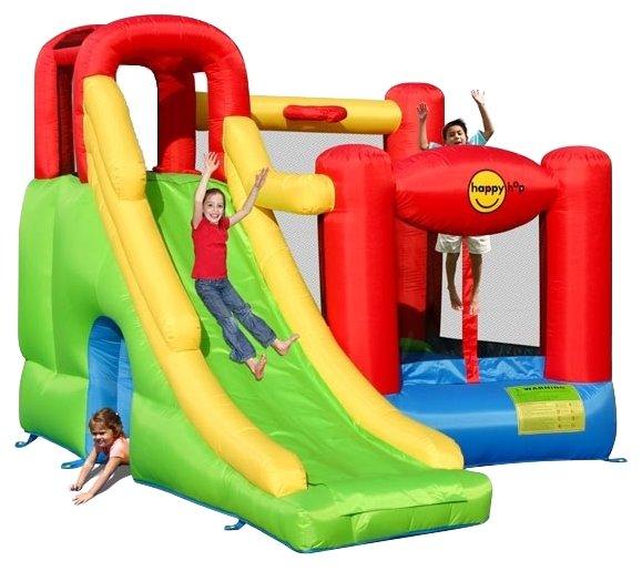 Надувной комплекс Happy Hop Игровой центр 6 в 1 9060