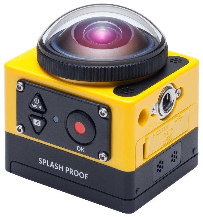 Сравнение с Kodak SP360