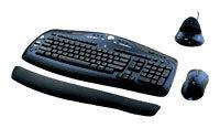 Клавиатура и мышь Logitech Cordless Desktop MX 3000 Black USB+PS/2