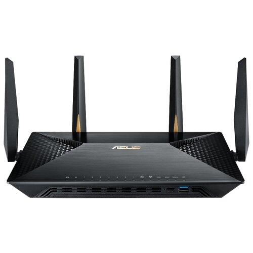 Wi-Fi роутер ASUS BRT-AC828 черныйОборудование Wi-Fi и Bluetooth<br>