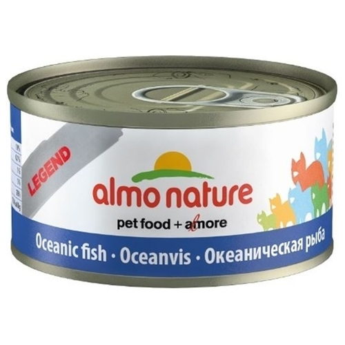 Корм для кошек Almo Nature Legend Adult Cat Oceanic Fish (0.07 кг) 12 шт.