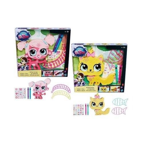 Игровой набор Littlest Pet Shop Укрась зверюшку B0033