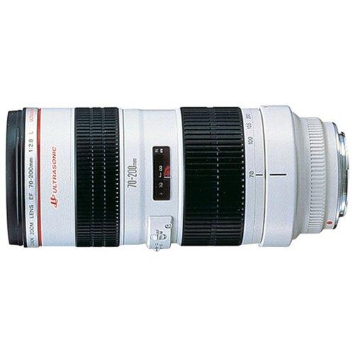 Фото - Объектив Canon EF 70-200mm f/2.8L USM черный/белый объектив canon ef 16 35mm f 2 8l iii usm черный