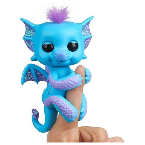 Купить Интерактивная игрушка робот WowWee Fingerlings Дракон тара, Роботы и трансформеры