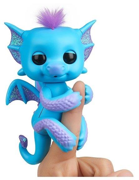 Интерактивная игрушка робот WowWee Fingerlings Дракон