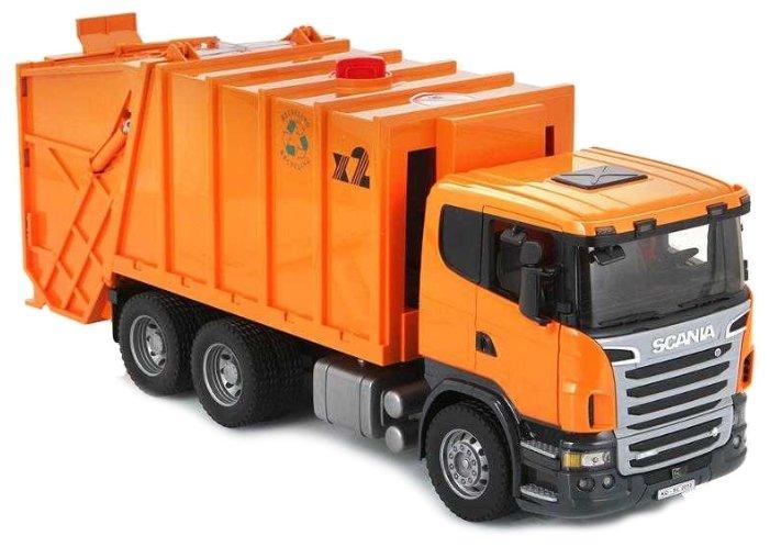 Мусоровоз Bruder Scania (03-560) 1 16 62 см