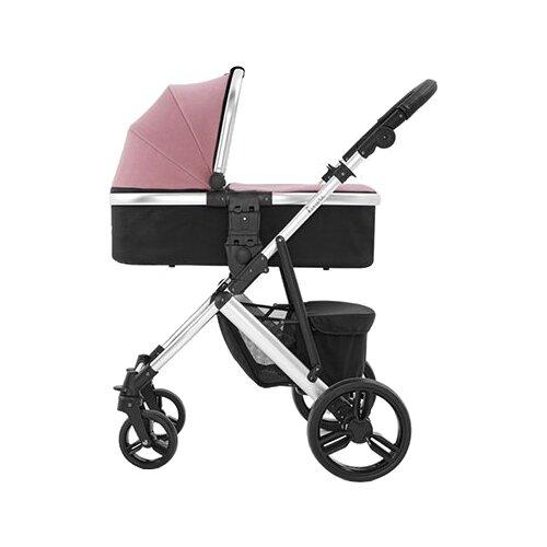 Купить Универсальная коляска Tutti Bambini Riviera (2 в 1) pink/plum/AL серебристый, Коляски