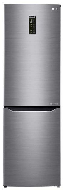 Холодильник LG GA-B429SMQZ, двухкамерный, серый