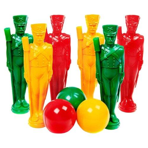 Купить Набор для игры в боулинг Строим вместе счастливое детство Стратегия (5109), Спортивные игры и игрушки