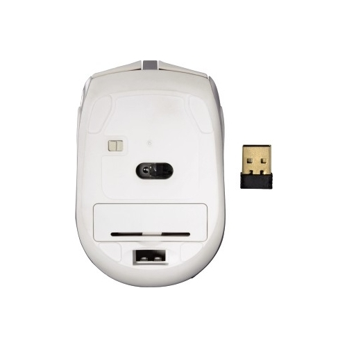 Мышь HAMA Wireless Optical Mouse Milano White-Silver USB