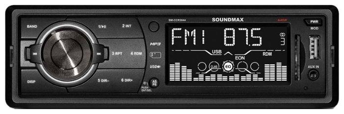 SoundMAX SM-CCR3044  черный