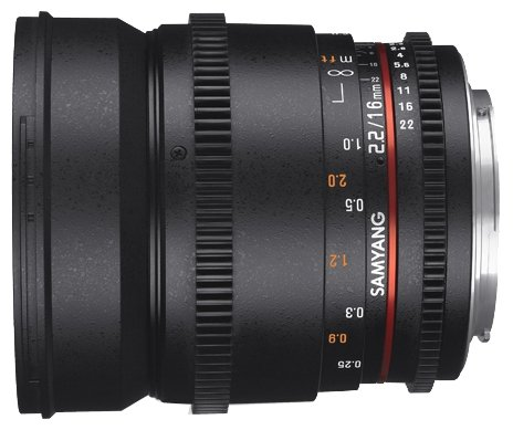 Samyang Объектив Samyang 16mm T2.2 ED AS UMC CS VDSLR II Sony E