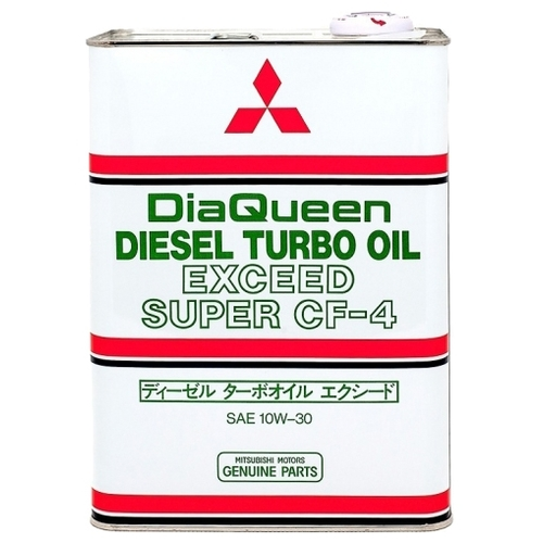Моторное масло Mitsubishi DiaQueen Diesel Turbo 10W30 CF-4 4 л Моторные масла