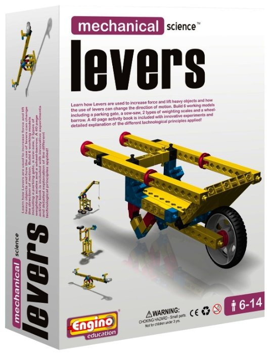 Конструктор ENGINO Mechanical Science M01 Levers