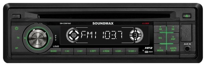 Автомагнитола SoundMAX SM-CDM1045