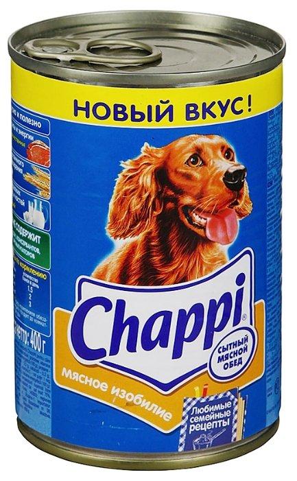 Корм для собак Chappi Мясное изобилие 6шт. х 400г