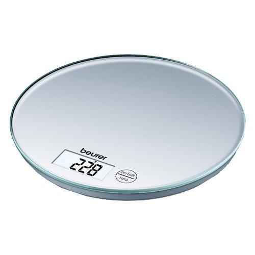 Кухонные весы Beurer KS 28 серебристый