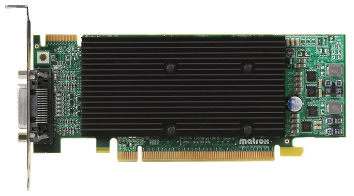 Matrox Видеокарта Matrox M9120 PCI-E 512Mb 128 bit Low Profile Cool