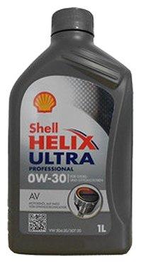 Моторное масло SHELL Helix Ultra Professional AV 0W-30 1 л