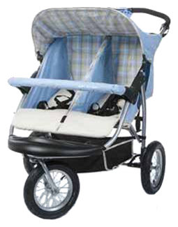 Прогулочная коляска FD Design 3W Twin Air S