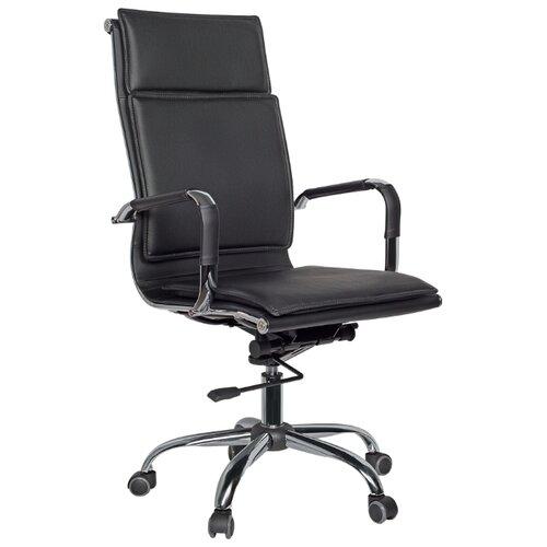 Компьютерное кресло College CLG-617 LXH-A для руководителя, обивка: искусственная кожа, цвет: черный