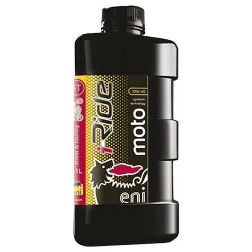 Моторное масло Eni/Agip i-Ride moto 10W-40 1 л вилочное масло eni fork 10w 1 л