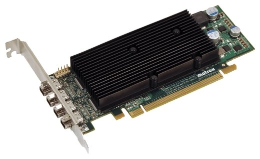 Matrox Видеокарта Matrox M9148 PCI-E 1024Mb 128 bit Low Profile