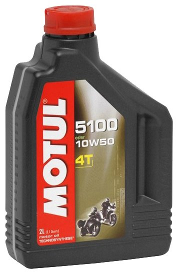 Моторное масло Motul 5100 4T 10W50 2 л