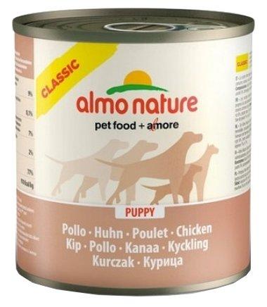 Корм для щенков Almo Nature Classic курица 12шт. х 280г