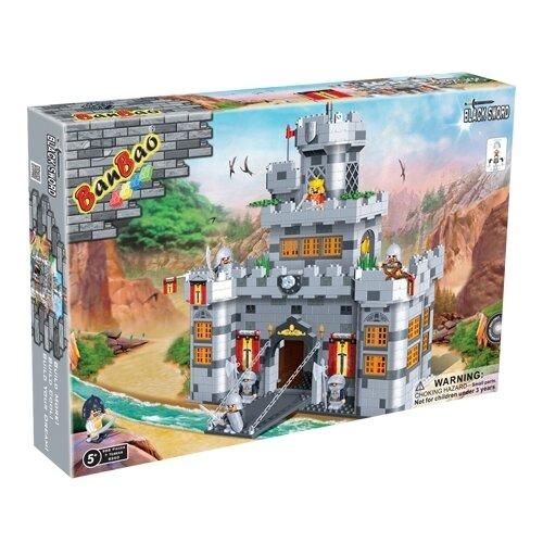 Купить Конструктор BanBao Черный меч 8260 Замок 988 деталей, Конструкторы