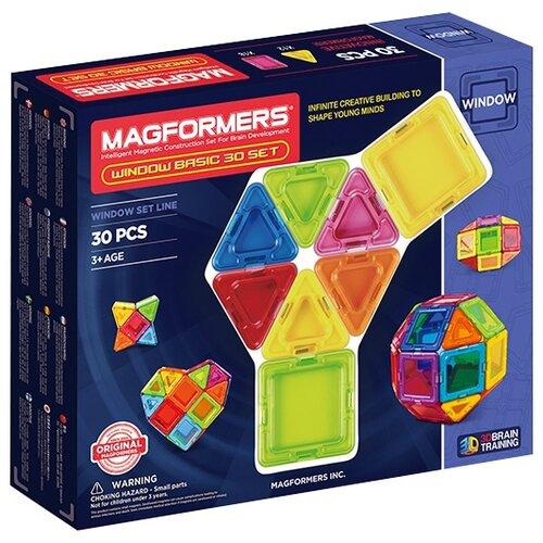 Магнитный конструктор Magformers Window Basic 714002-30 magformers магнитный конструктор ice world 30 деталей magformers