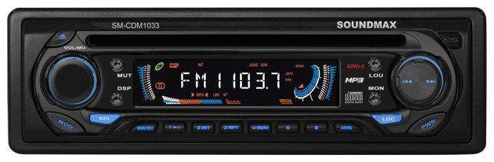 Автомагнитола SoundMAX SM-CDM1033