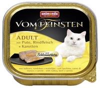 Корм для кошек Animonda (0.1 кг) 1 шт. Vom Feinsten Adult Меню для привередливых кошек с индейкой, г