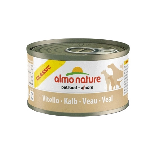 Корм для собак Almo Nature Classic Adult Dog Veal (0.095 кг) 12 шт.