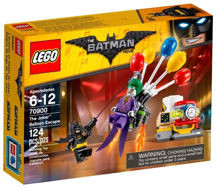 Классический конструктор LEGO The Batman Movie 70900 Побег Джокера на воздушных шариках