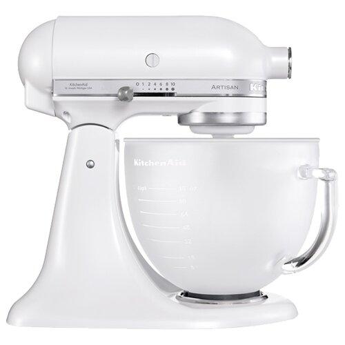 Фото - Миксер KitchenAid 5KSM156EFP, морозный жемчуг тостер kitchenaid 5kmt2204efp морозный жемчуг