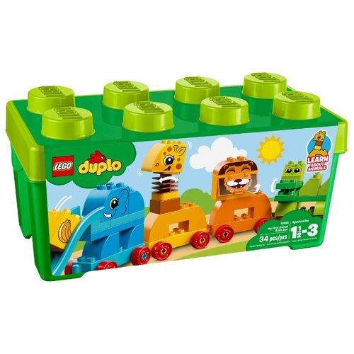 Купить Конструктор LEGO Duplo 10863 Мой первый парад животных, Конструкторы