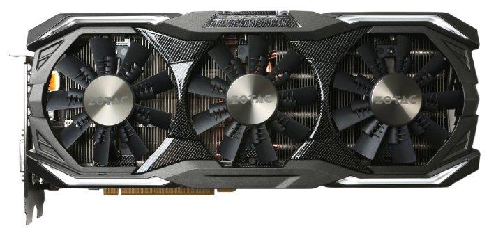 ZOTAC GeForce GTX 1070 1632Mhz PCI-E 3.0 8192Mb 8208Mhz 256 bit DVI HDMI HDCP