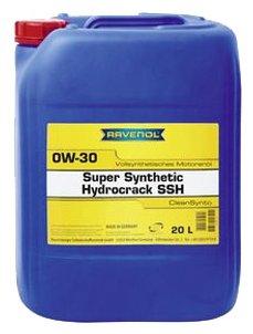 Моторное масло Ravenol Super Synthetic Hydrocrack SSH SAE 0W-30 20 л