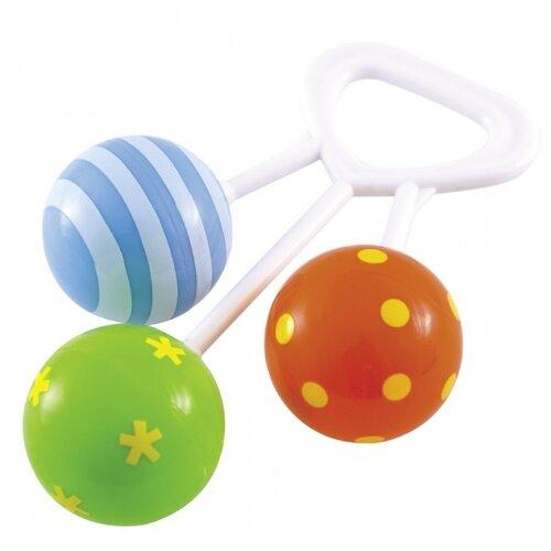Купить Погремушка Canpol Babies Rattle Three balls 2/664 зеленый/синий/красный, Погремушки и прорезыватели