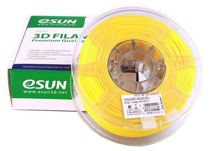 PLA пруток ESUN 1.75 мм желтый