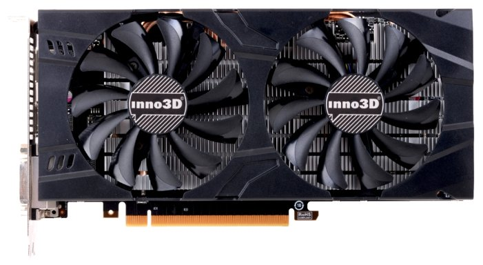 Inno3D Видеокарта Inno3D GeForce GTX 1060 1506Mhz PCI-E 3.0 3072Mb 8000Mhz 192 bit 2xDVI HDMI HDCP X2