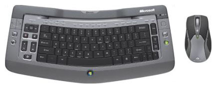 Клавиатура и мышь Microsoft Wireless Entertainment Desktop 7000 Grey USB
