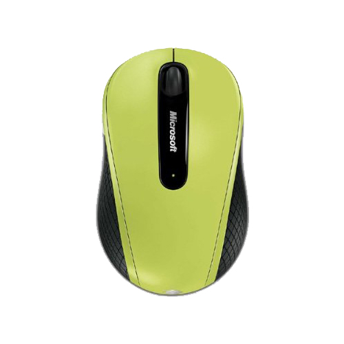 Мышь Microsoft Wireless Mobile Mouse 4000 Green USB