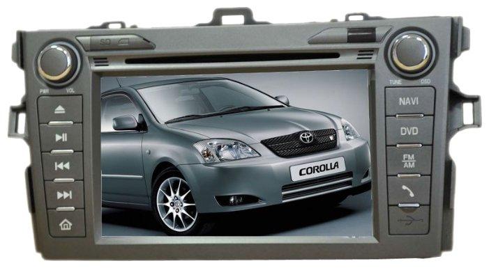 Автомагнитола MOTEVO Toyota Corolla