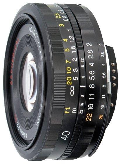 Объектив Voigtlaender 40mm f/2.0 SLII Ultron Nikon F