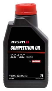 Моторное масло Motul Nismo Competition Oil 2212E 15W50 1 л